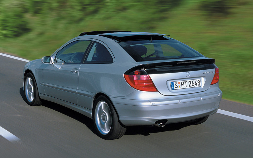 Mercedes-Benz C230 Sport Coupe 2002