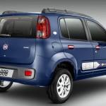 Fiat Uno 2014 traseira