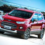 Ford EcoSport 2014 vermelha