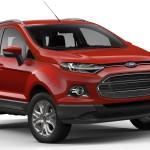 Ford EcoSport 2014 vermelha - frente