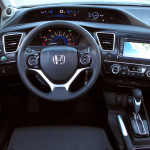 Honda Civic 2014 interior