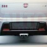 Fiat Uno 2015 traseira