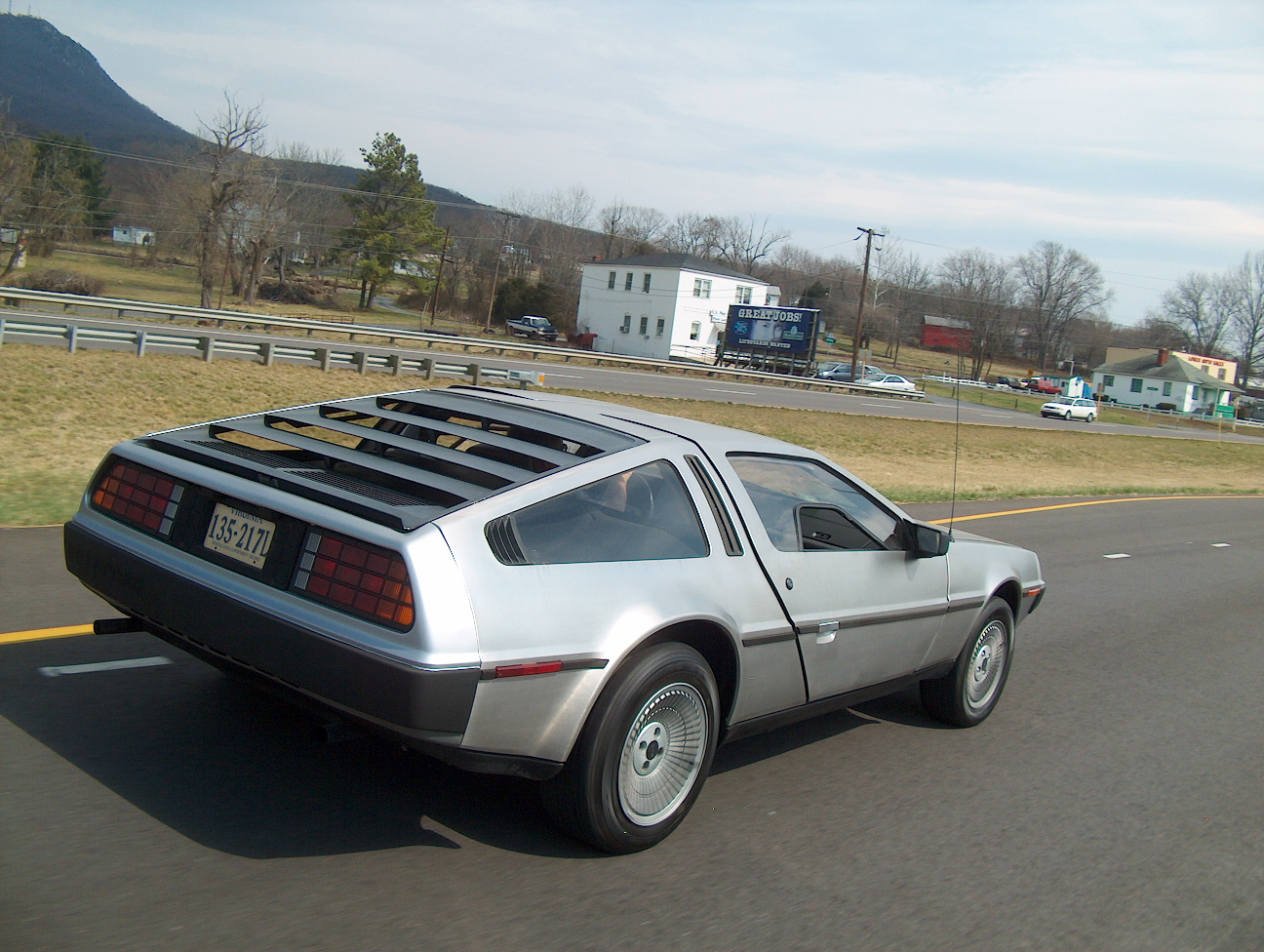 DeLorean - The Back Future