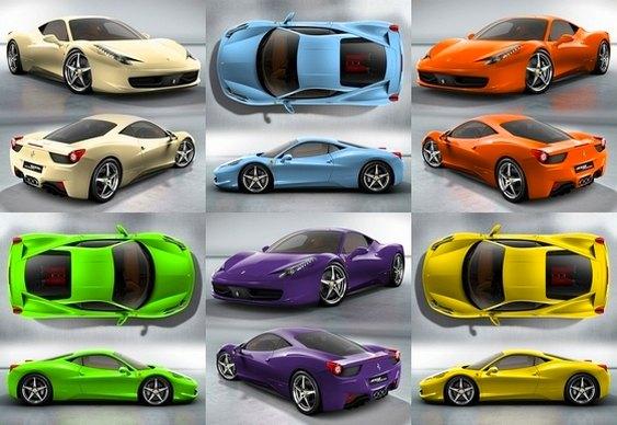 7 - Você pode personalizar sua Ferrari