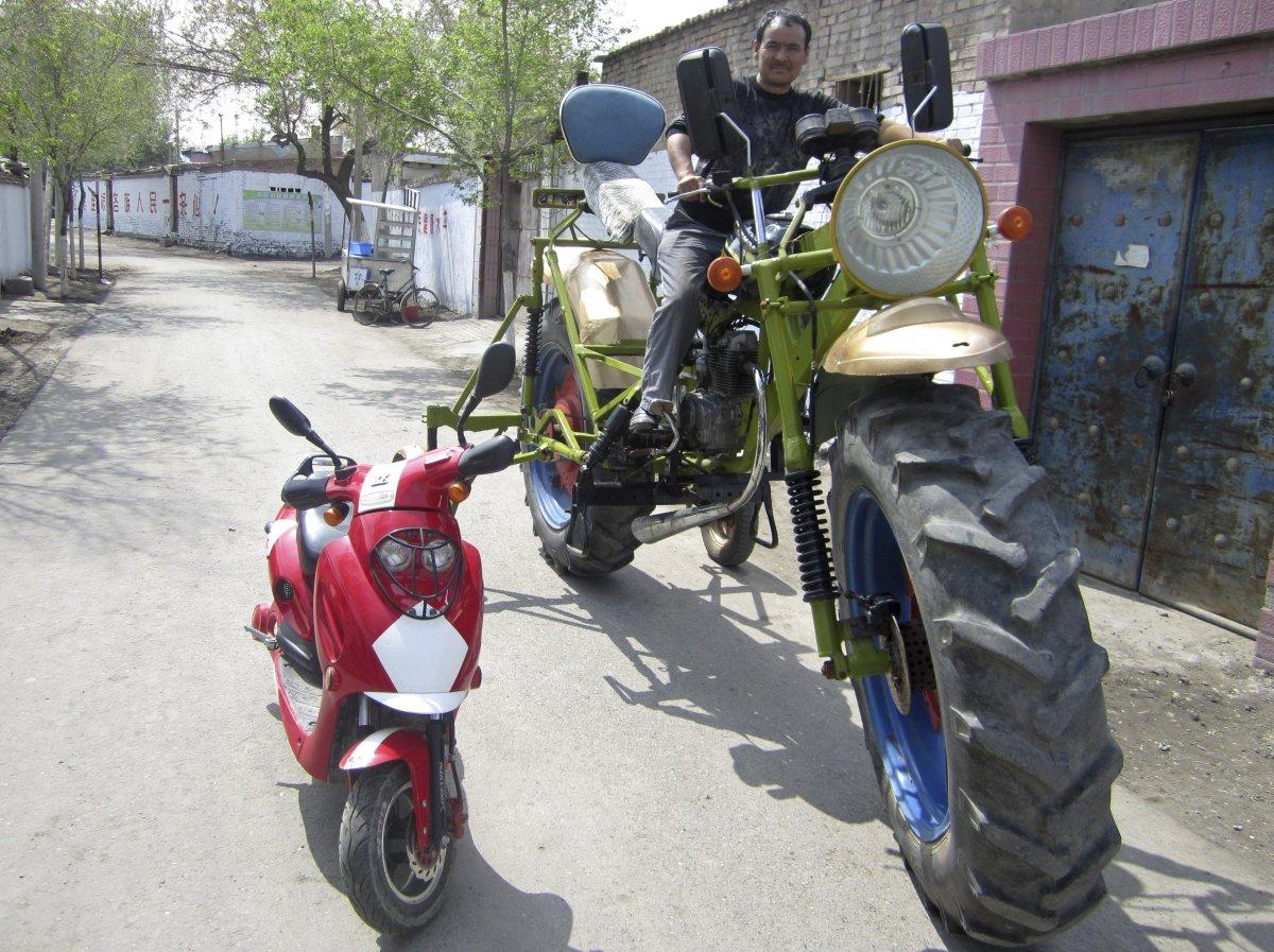 15 – Moto monstro