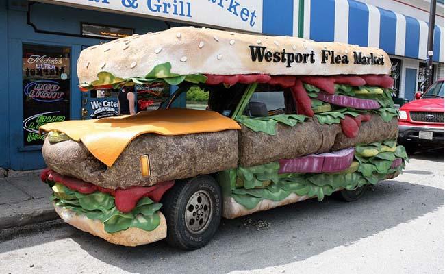18 – Carro ou sanduíche?