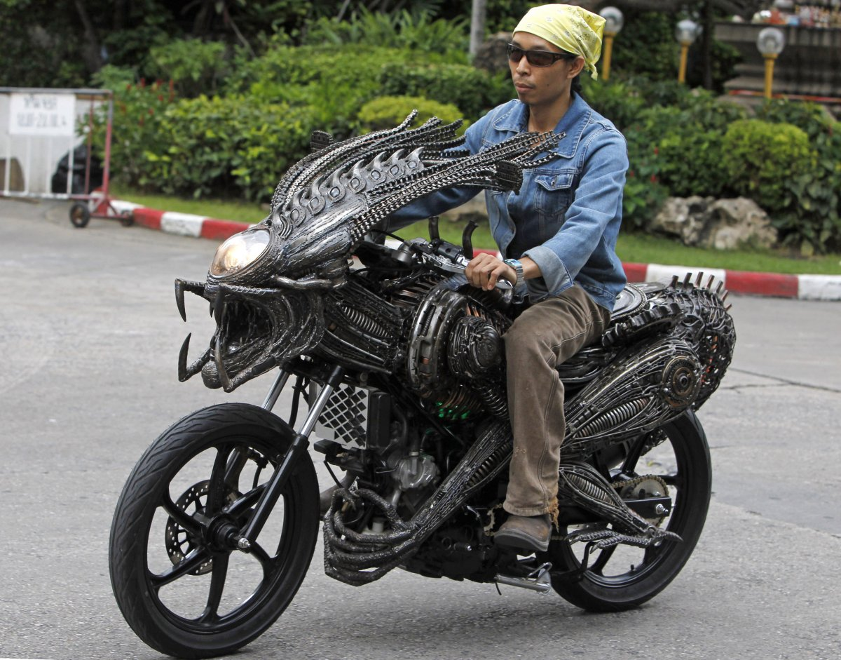 3 – Moto predadora