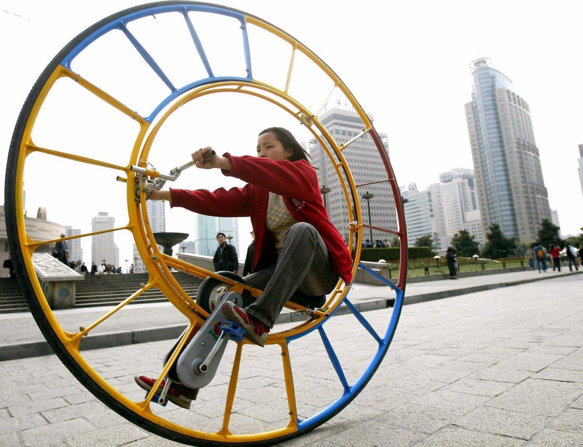 6 – Bicicleta ou roda?