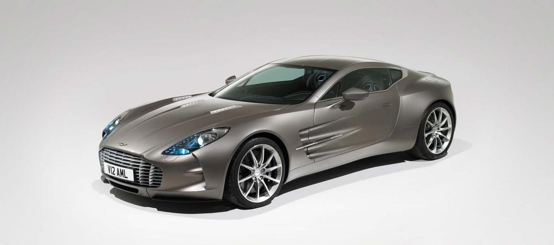 Aston Martin One-77 (1,4 milhões de dólares)