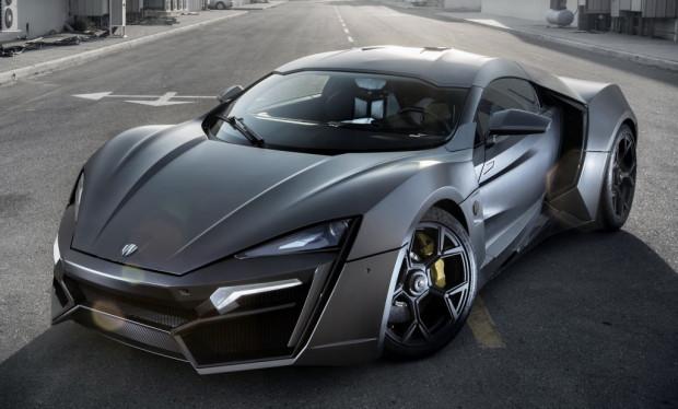 W Motors Lykan Hypersport (3,4 milhões de dólares)