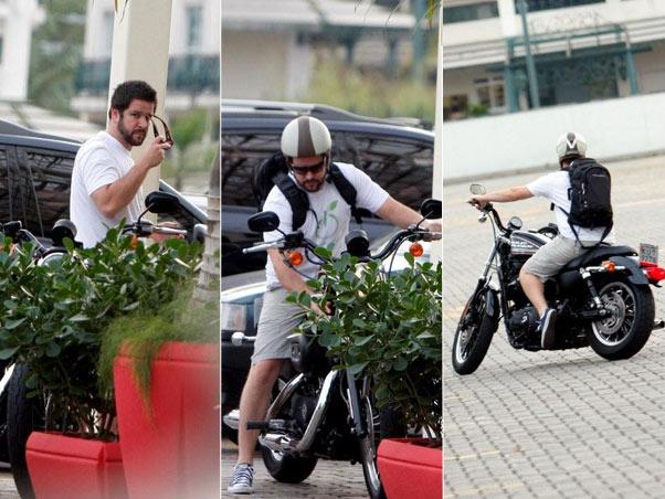 Famosos que gostam de motos