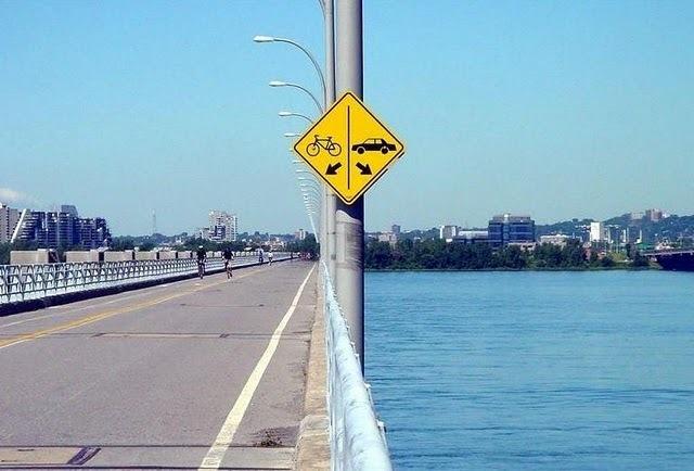Placas de trânsito mais engraçadas
