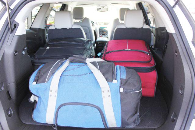 4 - Porta-malas espaçosos