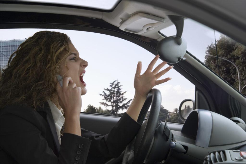 Quem gosta de xingar mais os outros motoristas?