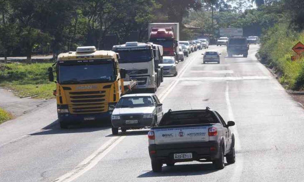 Em Minas Gerais, motoristas abusam da velocidade nas estradas federais