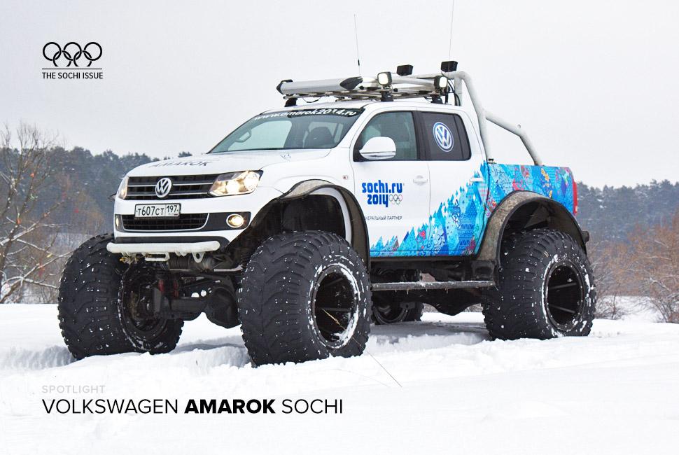 Sochi 2014 - VW Amarok