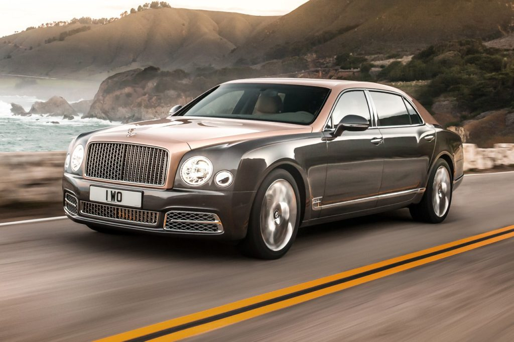 Ouro: Bentley Mulsanne