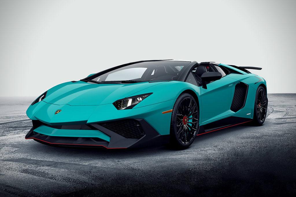 Ouro: Lamborghini Aventador Superveloce
