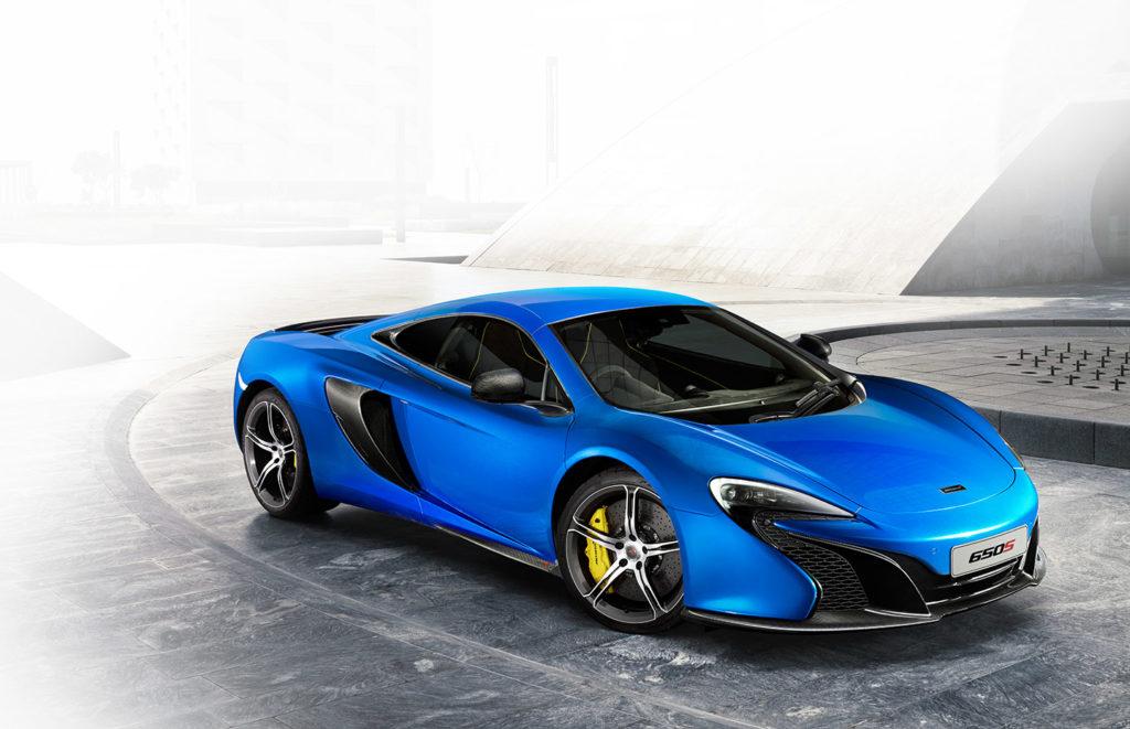 Prata: McLaren 650S