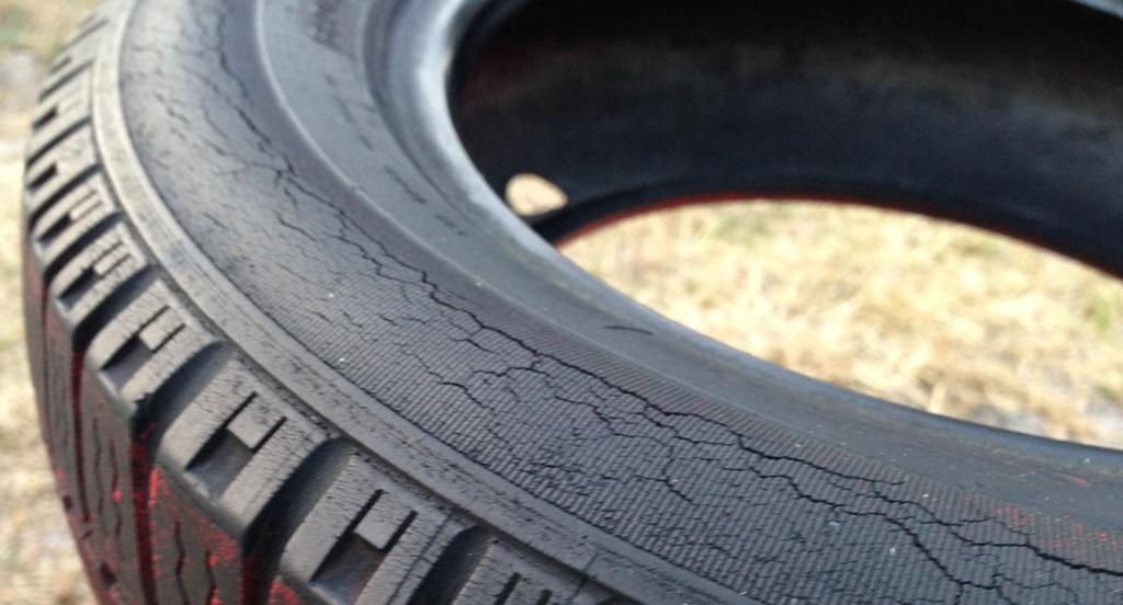 Usar pneus meia-vida