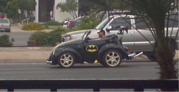 Batmóvel muda por conta do valor do seguro auto