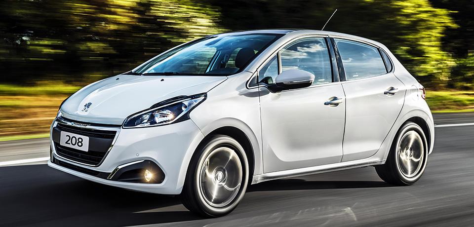 Preço médio do seguro do Peugeot 208