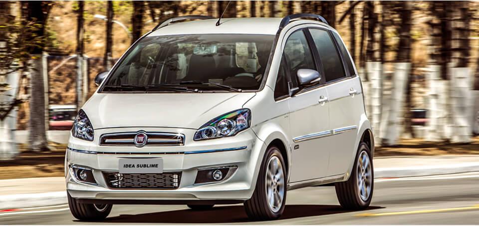Preço médio do seguro Fiat Idea