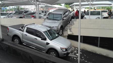 Lesões corporais ao estacionar ou manobrar