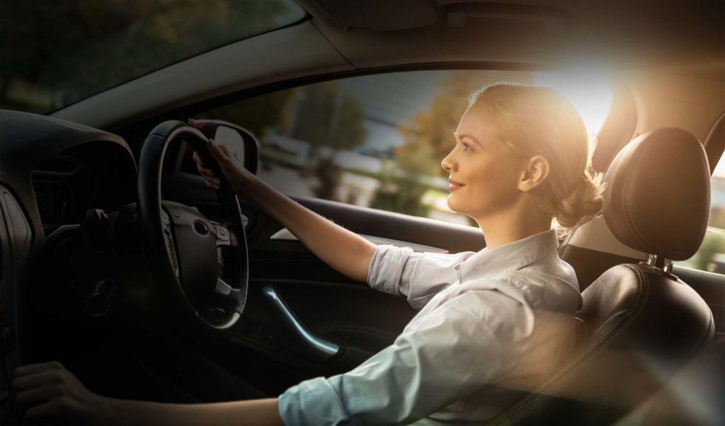 Qual a função dos itens de segurança do carro?