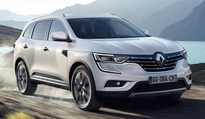 Preço médio do seguro do Renault Koleos