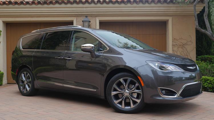 Preço médio do seguro do Chrysler Pacifica
