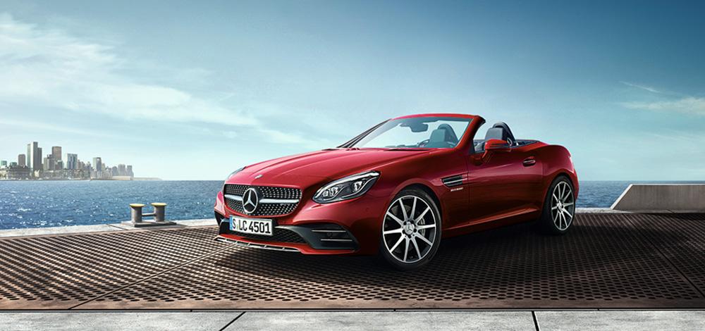 Preço médio do seguro do Mercedes SLC