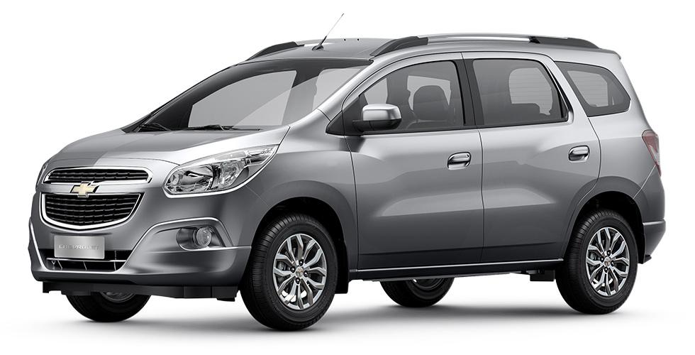 Preço médio do seguro Chevrolet Spin 2017