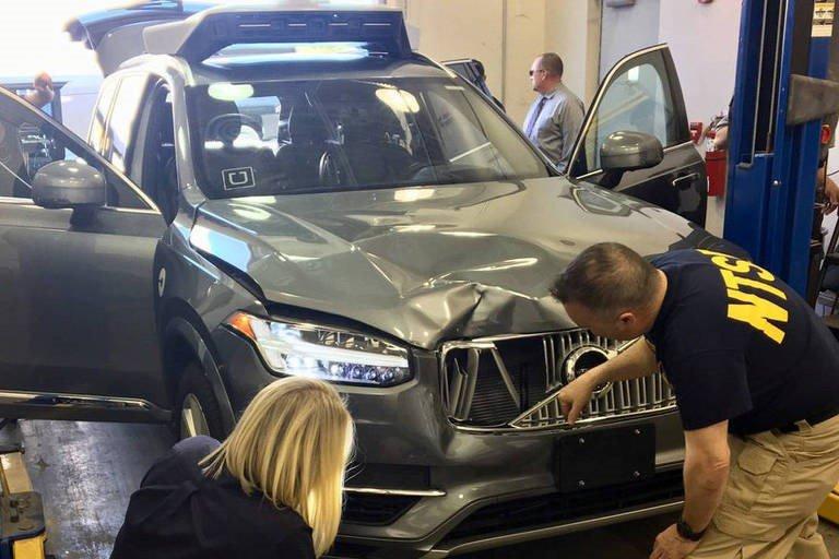 Acidente coloca em dúvida a segurança do carro autônomo