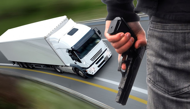 Brasil está na lista dos países com maiores roubo de cargas