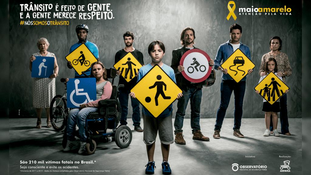 Nós somos o trânsito – a Campanha Maio Amarelo
